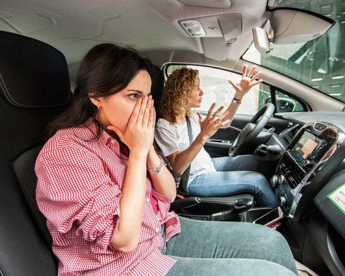 Errores en la conducción