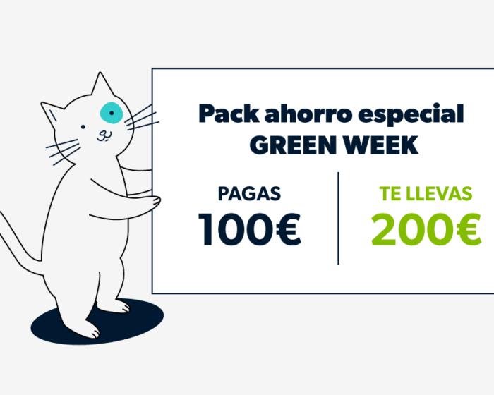 Pack especial Green Week ofertón