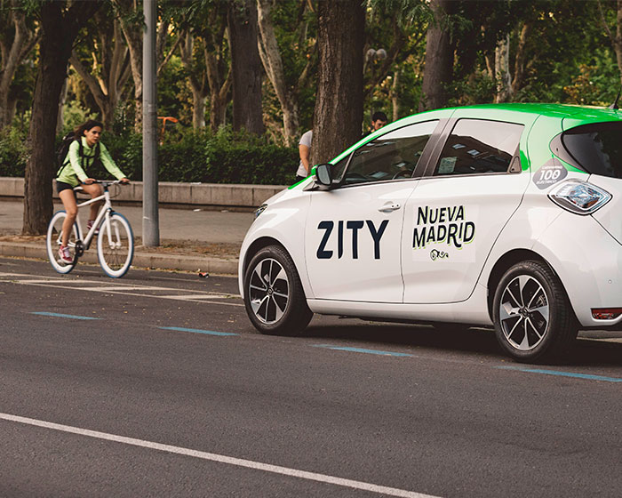 Aparcar en Madrid con ZITY
