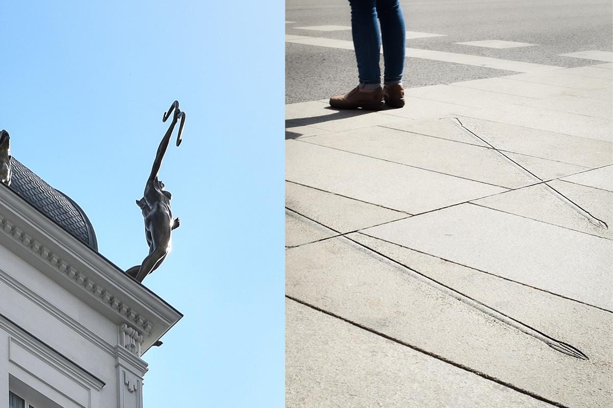 Curiosidades de Madrid. Diana, flechas.